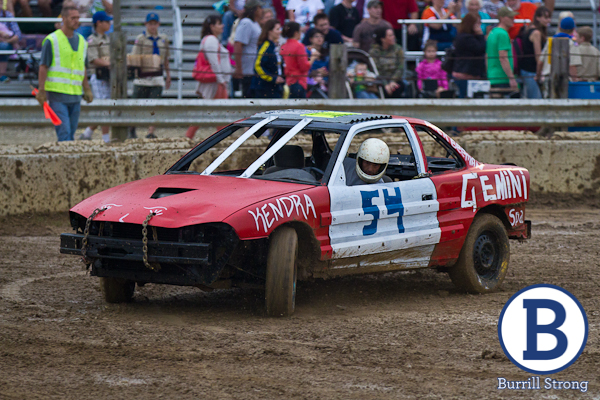 Chelsea Fair Figure Demolition Derby August Burrill S
